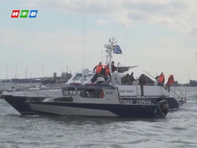 Спасение утопающих в Керченском проливе