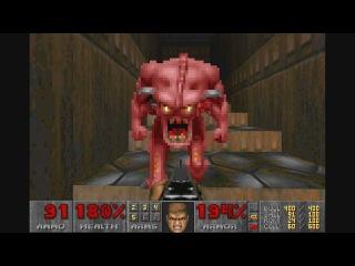 DOOM I: Knee-Deep in the dead. Military base (secret level)!