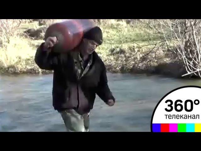 Жители поселка Межгорье в Крыму оказались заложниками разливающейся реки