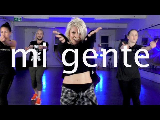 Mi Gente - J Balvin Willy William ft Beyonce   Jasmine Meakin (Mega Jam)