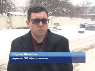 ГТРК ЛНР. Коммунальщики убирают снег в штатном режиме. 23 Января 2018