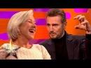 Liam Neeson Discusses His Sex Scene with Ex Girlfriend Helen Mirren The Graham Norton Show topnotchenglish