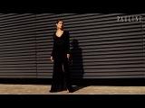 Силуэтное вечернее платье Энистон от PAULINE максимальной длины и головокружитель ...