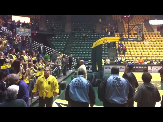 George Mason University Green Machine with Bill Murray playing Livin on a Prayer