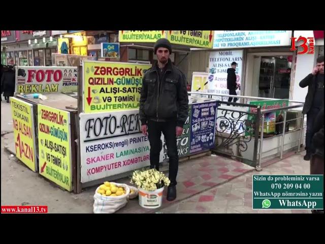 'Polislər məni o həddə çatdırıb ki, axırda özümü yandıracam' Tofiq Məmmədov kanal 13 tv