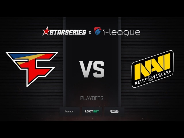 FaZe vs Natus Vincere, map 1 inferno, StarSeries i-League Season 4 Finals