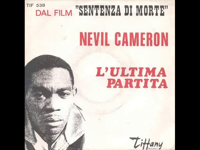 NEVIL CAMERON L'ULTIMA PARTITA 1968