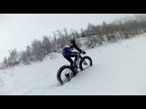 Vee Tire Snowshoe 2XL 5.6'' prototypes in knee deep powder. Part 8