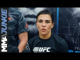 UFC on FOX 28 Jessica Andrade full open workout scrum