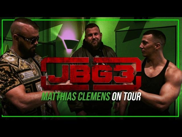 Matthias Clemens zu Besuch auf der JBG 3 Tour