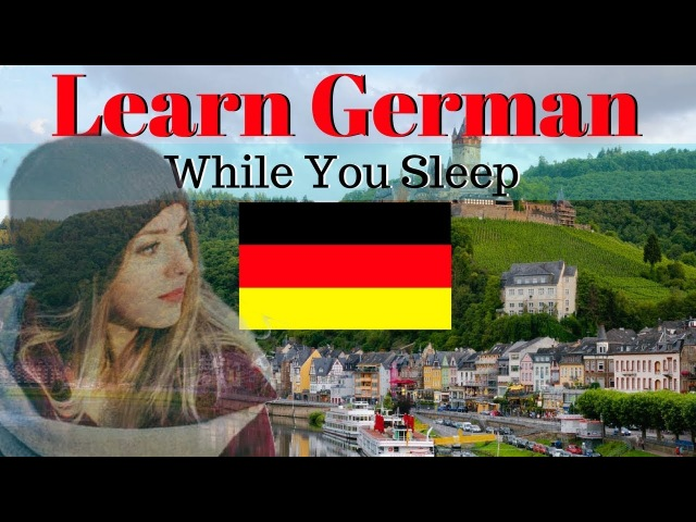 Learn German While You Sleep 😀 130 Basic German Words and Phrases 🍻 EnglishGerman
