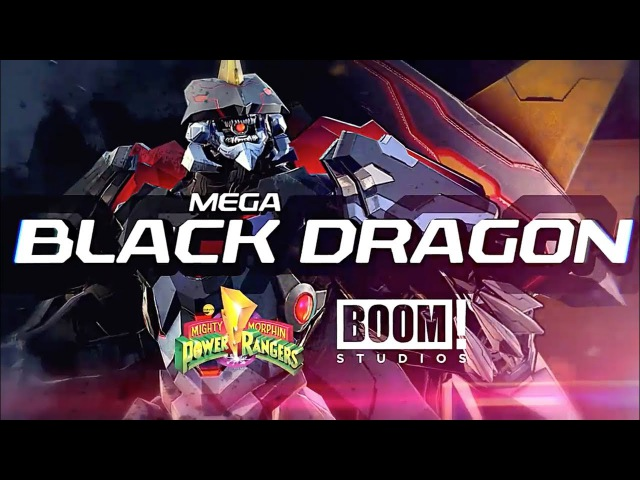 Power Rangers: Legacy Wars (MMPR) Mega Black Dragon (Moveset)