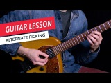 Learn How to Use Alternate Picking  Guitar  Lesson  Beginner  Tim Miller  Berklee Online