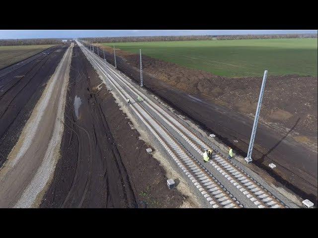 Строительство Краснодарского железнодорожного обхода