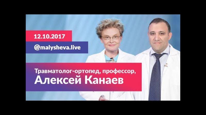 Malysheva Live с травматологом-ортопедом, профессором Алексеем Канаевым