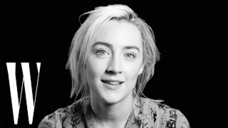 Saoirse Ronan on Lady Bird, Kristen Wiigs Gilly, and the Golden Globes | Screen Tests | W Magazine