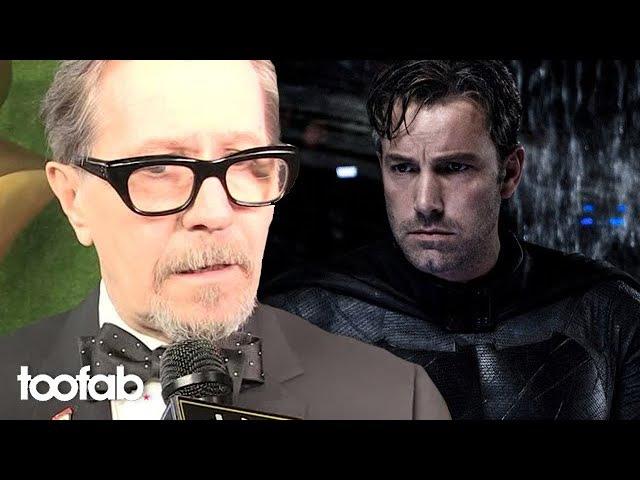 Who Gary Oldman Would Like to See Play Batman If Ben Affleck Bails