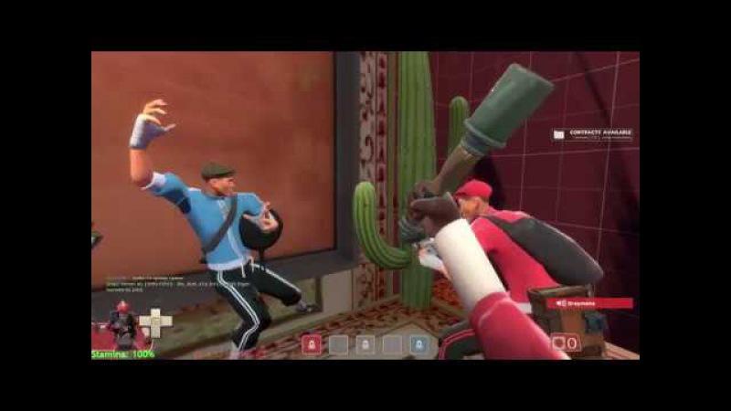 Team Fortress 2 5 [ ДАНИЛ нашел банан, а с штурмовик сломался из-за его кожуры]