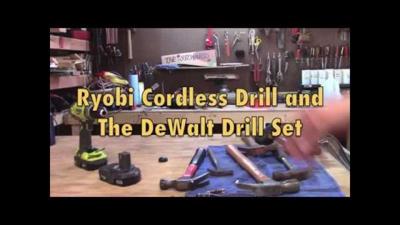 FYI: Ryobi Cordless Drill DeWalt Drill Set