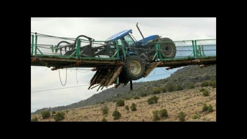 ТРАКТОРИСТ от Бога 80 уровень безбашенные Трактористы Tractor stuck in mud 2
