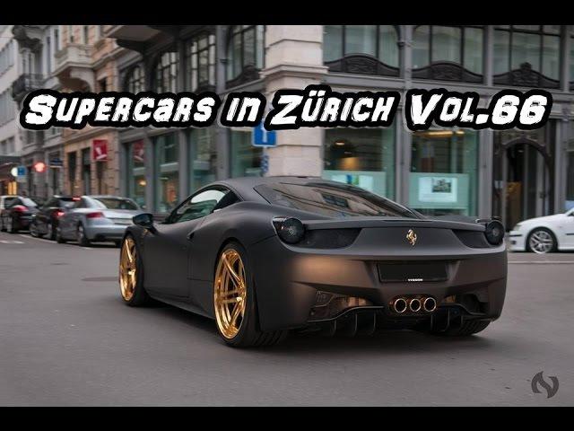 Supercars in Zürich Vol.66 - (Porsche GT3 RS, Aventador, SLS Black Series etc.)