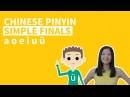 Pinyin Lessons 1. Chinese Pinyin Simple Finals a o e i u ü: Pinyin Vowels - ChineseFor.Us