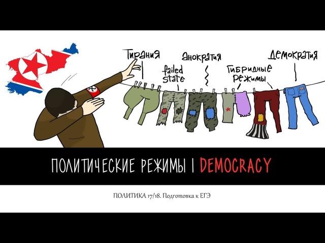 Политика. №6.1. Политические режимы | Демократия. Гр. Виноградова. Подготовка к ЕГЭ.