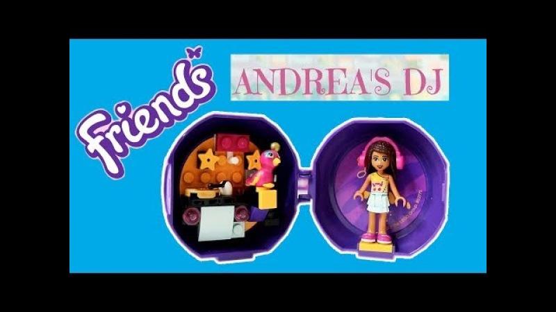 НОВИНКА LEGO Покупаем Новинку NEW LEGO FRIENDS PODS 2018 Andrea's DJ Booth LEGO Friends
