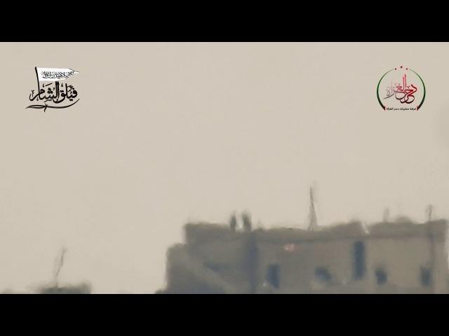 Поражение захватчиков 11 Шам-корпус Уничтожьте базу Покорителей банд Льва на фронте Шам-аль-Хава Сельские Idlib