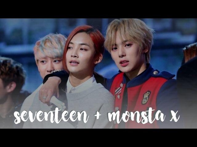 Monsta x seventeen friendship au! (ep.1)