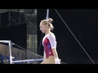 Daria Spiridonova Bars 2017 Universiade AA