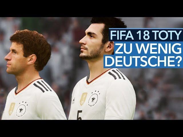 FIFA 18 TOTY - Warum fehlen die deutschen Weltmeister im Team of the Year?