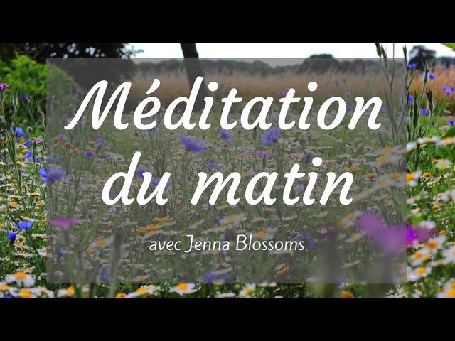Méditation pour une journée pleine d'énergie