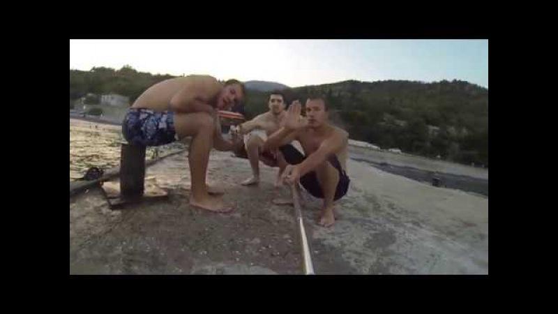 пьяные прыжки))