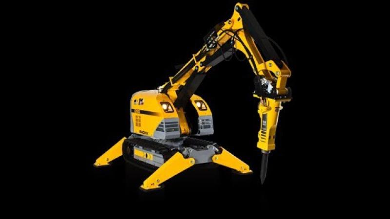 Аренда демонтажных роботов Brokk 89100059461 Брокк