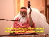 Sumukha Ganapati by Sri Ganapathy Sachchidananda Swamiji