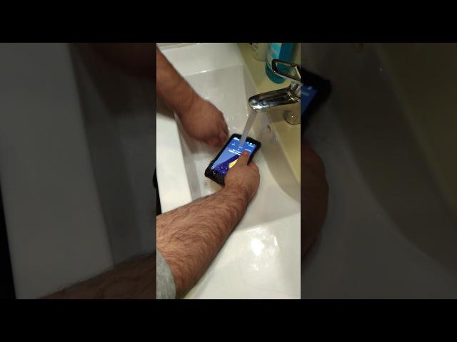 Тест на водостойкость смартфона JESY J9S (High End)