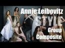 Annie Leibovitz Vanity Fair Style Group Composite Tutorial