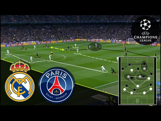 The Battle Has Begun | Real Madrid-PSG Tactical Analysis 1/2