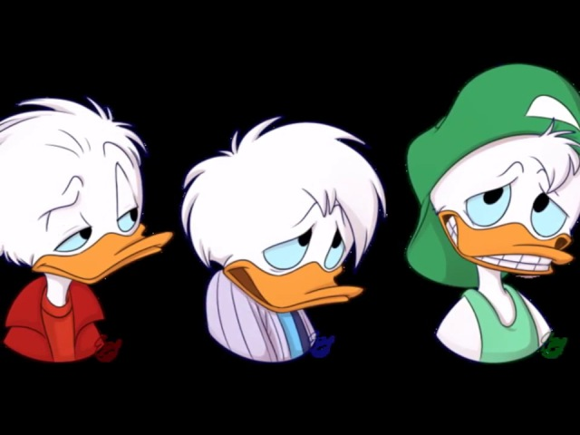 Huey dewey and louie quack pack