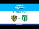 Primera B Metropolitana: Atlanta vs. San Miguel l PrimeraBenTyCSports