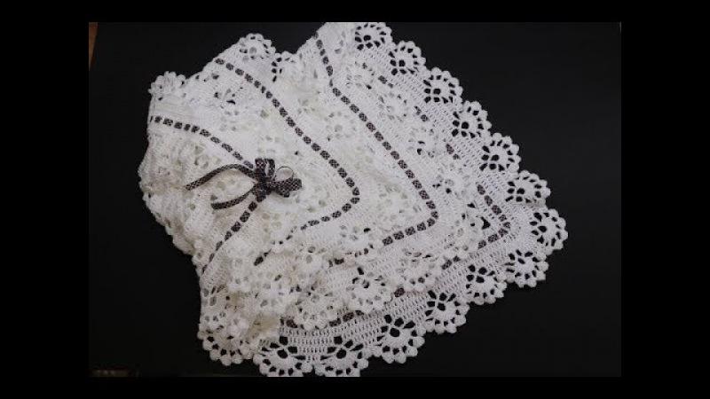 Cobija Crochet para Bebe paso a paso