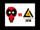 Deadpool vs Anime Impulse 2018