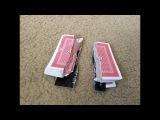 tear credit card with playing cards lengthwise way порвал кредитку с 54 картами вдоль