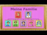 Deutsch lernen die Familie - Genitiv family - genitive case - German for children and beginners