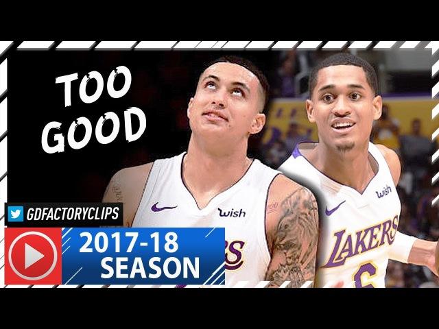 Jordan Clarkson Kyle Kuzma Full Highlights vs Knicks 2018 01 21 29 Pts for Clarkson