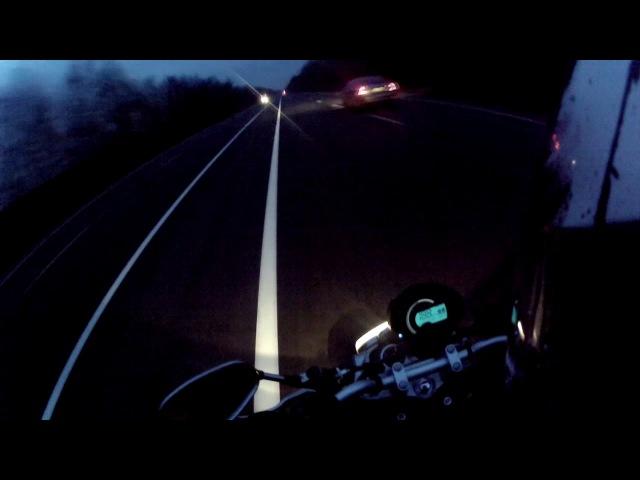 Проба Yamaha FZ6 acceleration