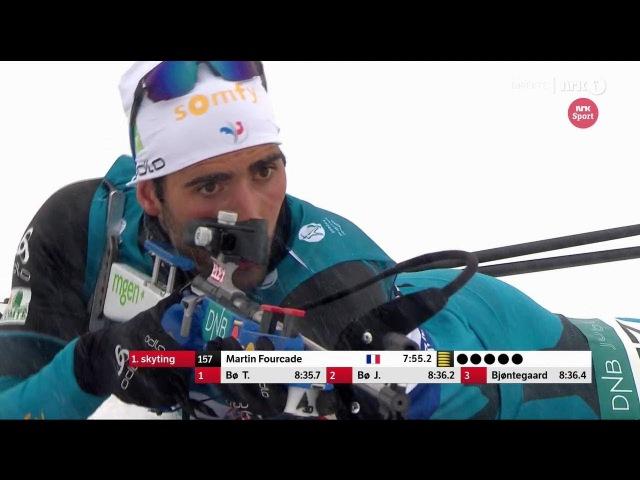 Biathlon - Men's Sprint - Sjusjøen - SESONGSTART SKISKYTING 18/11/2017