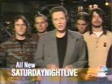 Saturday Night Live - Christopher Walken, Foo Fighters promo SNL