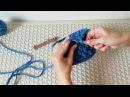 Вязание из трикотажной пряжи. Узор Шишечки.